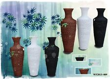 Large Wicker Vase Decoration Vase Wicker Decoration Flower Vase Wicker Furniture