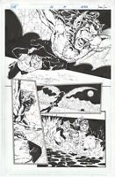 DV8 #20 page 5, Original Comic Art by Al Rio, Image Comics, 1998, Bat-man EVO