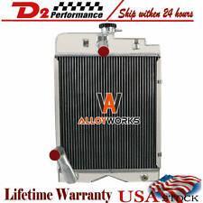 For Massey Ferguson To30 Te20 Tea20 To20 To30 To35 135 Tractor 3 Row Radiator