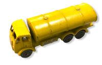 Matchbox Lesney 11a ERF Petrol Tanker YELLOW RARE NO HALF ROUND BRACE (12