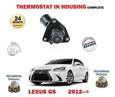 FOR LEXUS GS250 2.5 GS450H HYBRID 2012-> NEW THERMOSTAT WITH HOUSING COMPLETE
