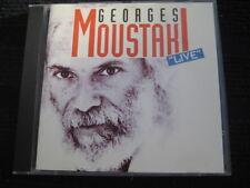 CD  GEORGES MOUSTAKI  Live  Neuwertige CD  21 Tracks