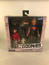 """CHUNK & SLOTH The Goonies 8"""" Clothed Action Figure 2-pack Neca 2019-UNOPENED"""