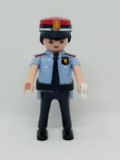 PLAYMOBIL POLICIA MOSSOS D´ESQUADRA ACADEMIA CUSTOM CATALUÑA POLICE