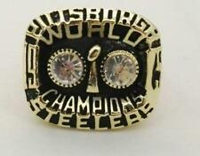 PITTSBURGH STEELERS REPLICA 2nd SUPERBOWL RING SIZE 11 W/ FRANCO HARRIS NAME