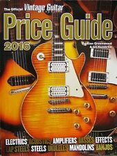 The Official Vintage Guitar Price Guide 2016 - Softcover