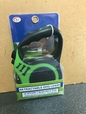 New listing 16ft Retractable Dog Leash - Weight Limit of 33 lbs - Easy Operation - Lot#1032