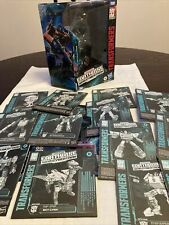Transformers Earthrise Optimus Prime Box Only With Instructions Lot