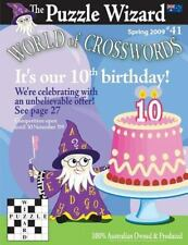 World of Crosswords No. 41 by Puzzle Wizard Staff (2013, Paperback)