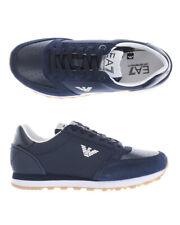 Emporio Armani Ea7 Shoes Sneaker Man Blue X8X028 XK051 A138