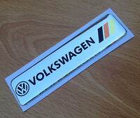 VW Badge Emblem GOLF Scirocco TSI GTI TDI Rear Boot Wing door side fender dash