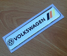 VW Badge Emblem GOLF Scirocco TSI GTI TDI Rear Boot Wing door side fender dash