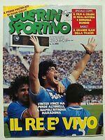 GUERIN SPORTIVO 18-1987 MARADONA NAPOLI RENATO BUSO-GARY LINEKER-ALBORETO
