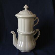 Karlsbader Kaffeekanne Kaffeemaschine, SPM Walküre, Porzellan, antik, Gr. 1