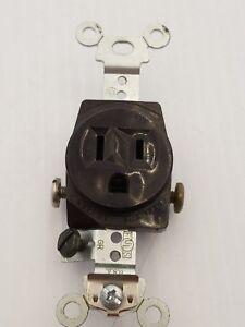 ARROW HART NEMA 5-15 15A 125V SINGLE RECEPTACLE~USED