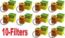 10-OEM Mann-Filter  Oil Filters  For BMW ( HU9254X / 11427512300 )