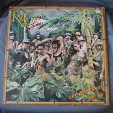 "LP 12"" KID CREOLE & THE COCONUTS - OFF THE COAST OF ME"