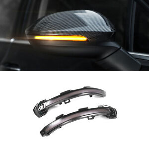 For Volkswagen Golf MK8 2020 2021 Side Mirror LED Dynamic Turn Signal Light