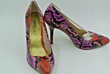 Steve Madden Womens groen zwart Leather Heels Shoes steve maden schoenen