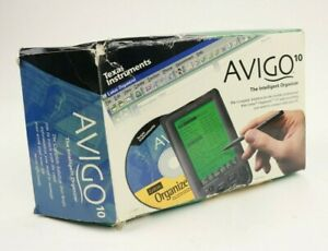 Texas Instruments Avigo 10 The Intelligence Organizer PDA 1997