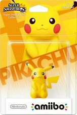 Nintendo Amiibo Pikachu Personaje Figura Super Smash Bros Wii U 3DS Nuevo!!!
