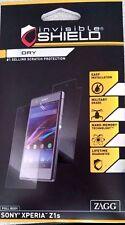 ZAGG OEM Sony Xperia Z1S Invisible Shield Dry Full Body Screen Protector Film