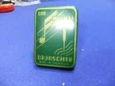 needle tin gramophone laubscher normal 200 advert advertising record player