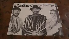 Jerry Allison drummer Buddy Holly & Crickets signed autographed postcard