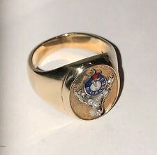 Elks Lodge 10K Gold Ring