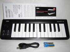 Korg Microkey2 Air 25key Bluetooth and USB MIDI Keyboard