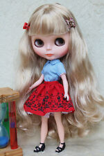 """Takara 12"""" Neo Blythe Doll from Factory Nude Doll Long blond hair NK-230C"""