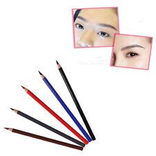 Crayon à Sourcils Crayon d'Eyeliner Crayon à Lèvres Makeup Imperméable 5Couleurs