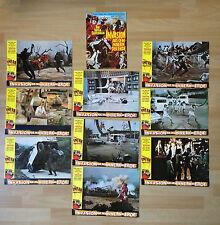 Aushangfotos * 9 AHF + A4-Plakat * Invasion aus dem Innern der Erde * EA 1976