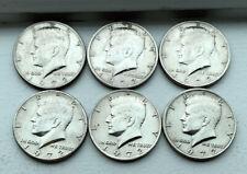 1972 Kennedy Half Dollar Coins Lot of 6