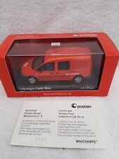 Minichamps 1 43 Posten Norge Limited Ed Volkswagen Caddy Maxi 2007 403 057005