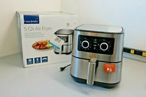 Insignia- 5-qt. Analog Air Fryer Stainless Steel NS-AF53MSS0 (OB-P)