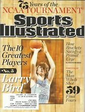 INDIANA STATE ST SYCAMORES LARRY BIRD 2013 SPORTS ILLUSTRATED 3X ALL AMERICAN