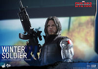 MARVEL Captain America Civil War WINTER SOLDIER Action Figure Hot Toys MMS351