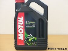 8,25€/l Motul  510 2T 4 Liter halbsynth. 2-Taktöl