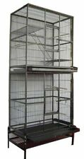 Double Stackable Bird Cockatiel Sugar Glider Rat Wrought Iron Animal Cage 287