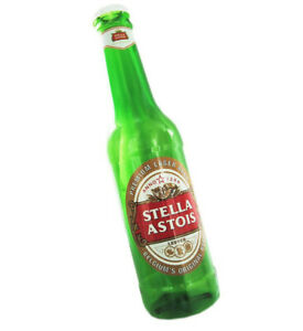 Stella Astois Giant Money Bottle 2ft MONEY SAVING LARGE COIN BOTTLE NEW