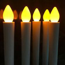 Long Flameless Candles Flickering Wedding LED Tea Light Candles Battery Tealight
