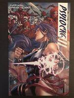 Psylocke #1 2009 2010 Variant Marvel X-Men Comic Book