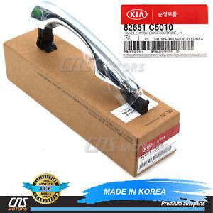 ⭐OEM⭐ Outside Door Handle Chrome LEFT DRIVER for 16-19 Kia Sorento 82651C5010