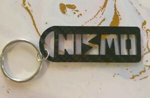 Nismo style Full Carbon Keychains / Keyrings - Nissan Micra / Laurel / Cefiro