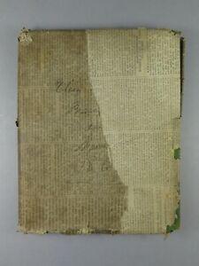 Antique Victorian 19th Century Scottish Heraldic Scrap Book 1862 Armorial Crests