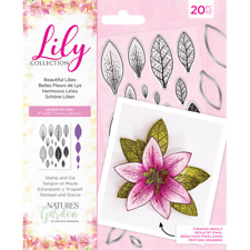 Nature's Garden Lily Craft Collection - Stamp and Die - Beautiful Lilies