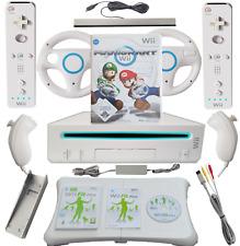 Nintendo Wii Konsolen Set mit Balanceboard, Mario Kart Original 2 Spieler