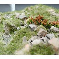 Modellszene Gelände Produktion Cluster Blume DIY Miniatur Landschaftsmater ML