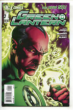 Green Lantern 1 DC New 52 2011 NM- Recalled Tear Drop Error Variant